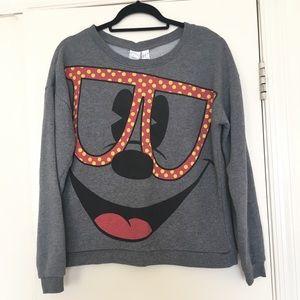 Mickey Mouse Crew Neck  Authentic Disney Crew Neck